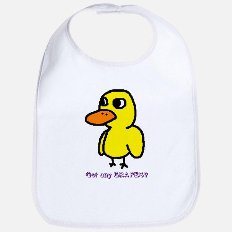 Cute Duck Bib