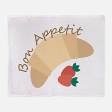 Bon Appetit Throw Blanket