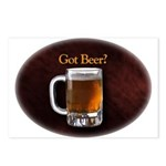 Got Beer Postcards (Package of 8)