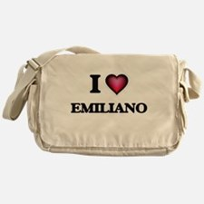 I love Emiliano Messenger Bag