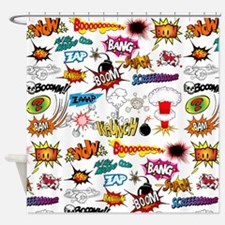 Comics Shower Curtain