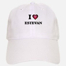 I love Estevan Baseball Baseball Cap