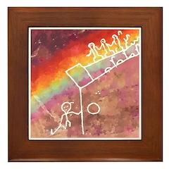 Rainbow Warriors Framed Tile