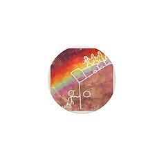 Rainbow Warriors Mini Button
