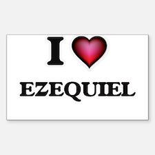 I love Ezequiel Decal