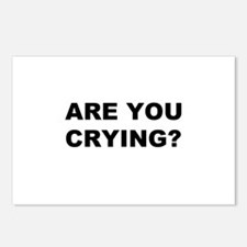 Are You Crying? Postcards (Package of 8)