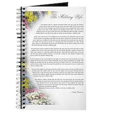 military wife poem Journal