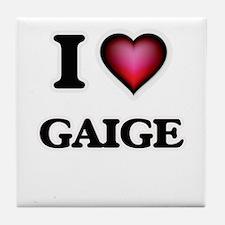 I love Gaige Tile Coaster