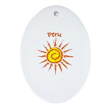 Peru Oval Ornament