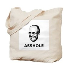 """Rudy Giuliani: Asshole"" Tote Bag"