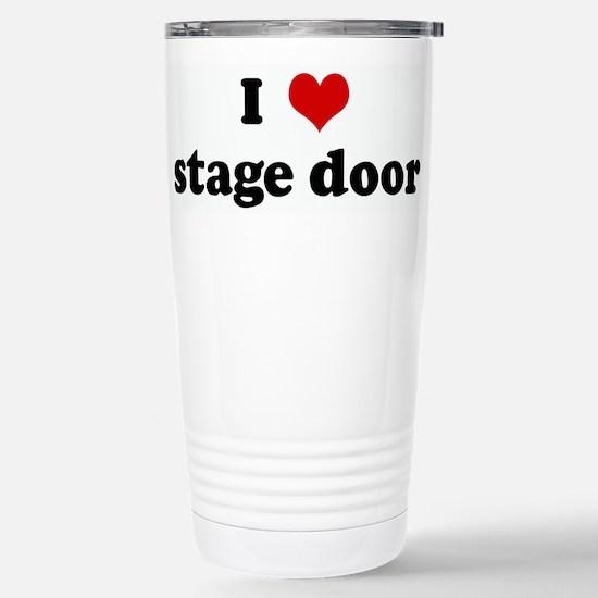 I Love stage door Mugs