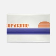 Suriname Rectangle Magnet