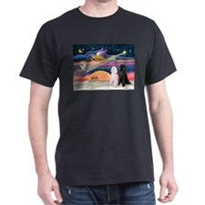 XmasStar/2 Poodles-STBW T-Shirt
