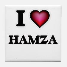 I love Hamza Tile Coaster