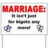 Gay marriage Yard Signs