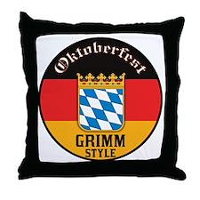 Grimm Oktoberfest Throw Pillow