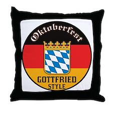 Gottfried Oktoberfest Throw Pillow
