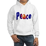 Peace Sign Hooded Sweatshirt