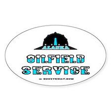 Alaska Oilfield Service Oval Decal