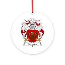 Amaya Ornament (Round)