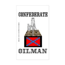 Confederate Rectangle Decal