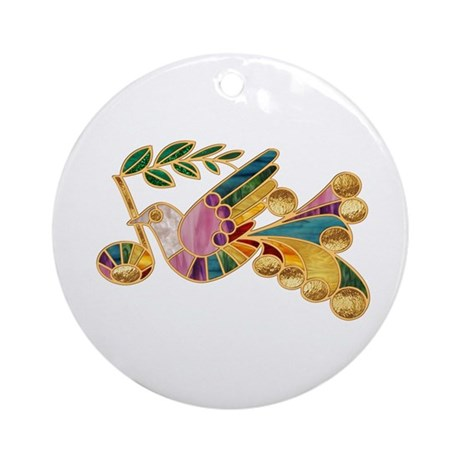 Peace Note Ornament (Round)