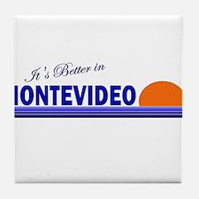 Its Better in Montevideo, Uru Tile Coaster