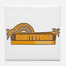 Montevideo, Uruguay Tile Coaster