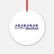 Montevideo, Uruguay Ornament (Round)