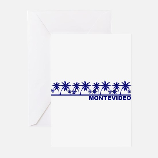 Montevideo, Uruguay Greeting Cards (Pk of 10)