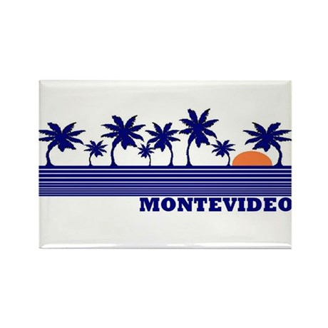 Montevideo, Uruguay Rectangle Magnet