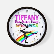 BEST GYMNAST Wall Clock