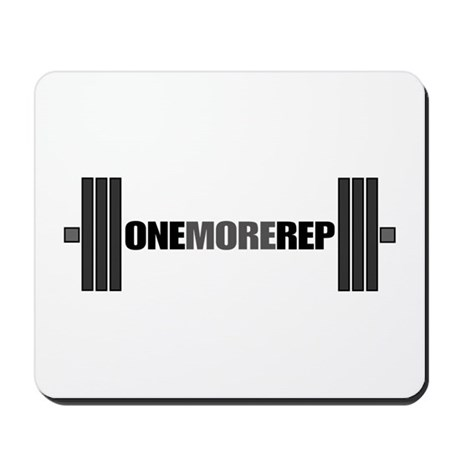 ONE MORE REP Mousepad