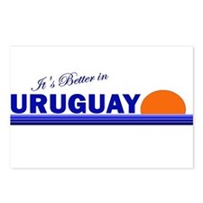 Its Better in Uruguay Postcards (Package of 8)