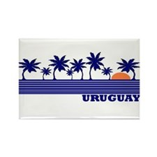 Uruguay Rectangle Magnet (10 pack)