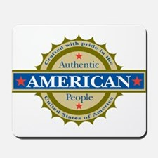 Authentic American Seal Mousepad
