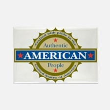 Authentic American Seal Rectangle Magnet