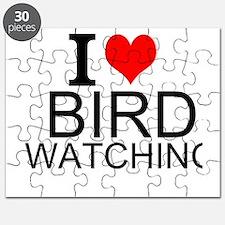 I Love Bird Watching Puzzle