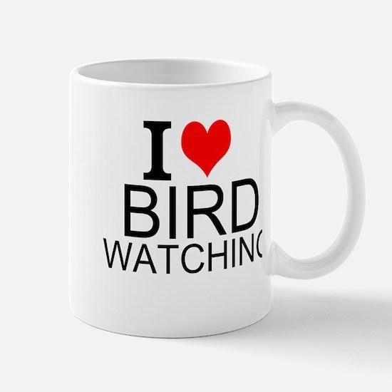 I Love Bird Watching Mugs