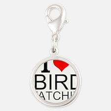 I Love Bird Watching Charms