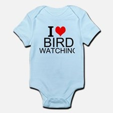 I Love Bird Watching Body Suit