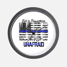 Unique Thin blue line Wall Clock