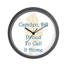 Proud to Call it Home Wall Clock