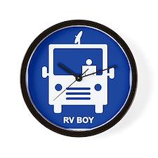 RV BOY Wall Clock