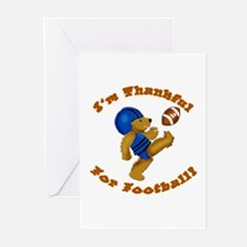 I'm Thankful for Football Greeting Cards (Pk of 10