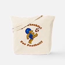 I'm Thankful for Football Tote Bag