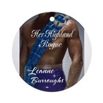 Her Highland Rogue Ornament (Round)