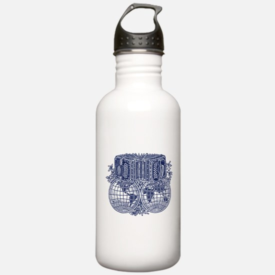 Funny Accordion Water Bottle