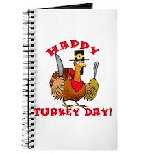 Happy Turkey Day Thanksgiving Journal