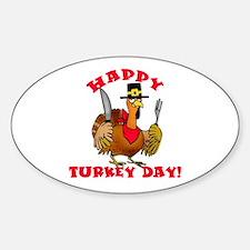Happy Turkey Day Decal